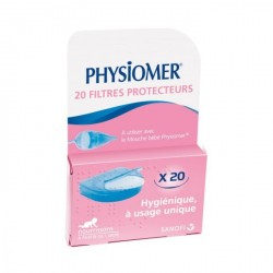 Physiomer Recharge 20 Filtres Protecteurs