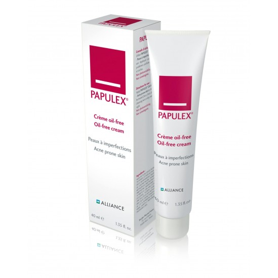 Alliance Papulex crème Oil-Free Peaux à Imperfections 40ml