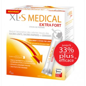 Xls médical extrat fort stick 60 sachets