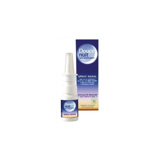 Douce nuit spray Nasal anti-ronflement 10ml