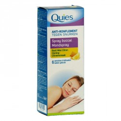 Quies Spray buccal anti-ronflement gout miel citron 70ml